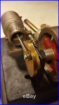 Antique Flame Licker Stationary Engine Motor Steam Hit Miss