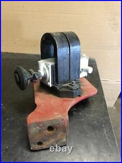 Antique Friction Drive Magneto And Bracket Waterloo Engine Hit Miss