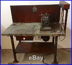 Antique HIT & MISS Old Stationary ENGINE Vintage BOSCH MAGNETO TESTER Test BENCH