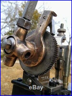 Antique Hills McCanna Mechanical Lubricator Oiler Hit Miss Steam Engine Loco etc