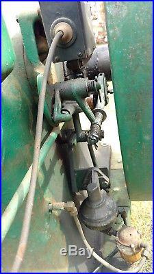 Antique Hit Miss Gas Engine 8 hp. John Deere Engine