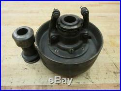 Antique Hit & Miss Steam Engine Era Line Shaft Clutch Flat Belt Pulley