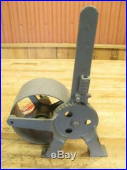 Antique Hit & Miss Steam Engine Era Line Shaft Flat Pulley Belt Tensioner Clutch