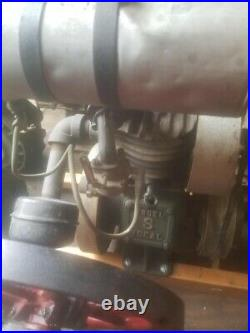 Antique IDEAL Model S Gas Engine. Mower Upright Motor Hit & Miss