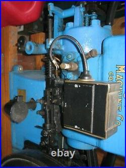 Antique Jaeger Hit n Miss Gas Engine