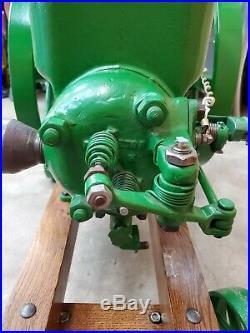 Antique John Deere 3 HP Hit & Miss Gas Engine