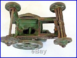 Antique John Deere Cast Iron Vindex Hit and Miss Engine