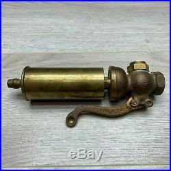 Antique Lonergan Steam Whistle 1.5 Diameter Train Hit N Miss Engines