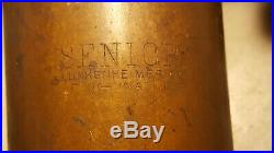 Antique Lunkenheimer Oiler Steam Engine Hit Miss Brass Senior Cincinnati Ohio