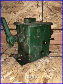 Antique Madison Kipp Blind Feed Single Port Lubricator Hit Miss Steam Engine