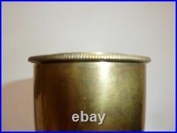 Antique Matched Pair Brass Steam Engine Oil Cups Hit Miss Engine