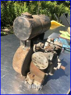 Antique Reo 552 -A Engine Aircooled Hit Miss Reel Mower Motor