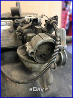 Antique Reo B552 A Engine Aircooled Hit Miss Reel Mower Motor
