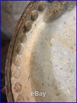 Antique Riveted Boiler Tank Hit Miss Steam Engine Art
