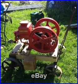 Antique Stationary Hit Miss Farm Gas Engine by MASSEY HARRIS, 2 hp Type 1