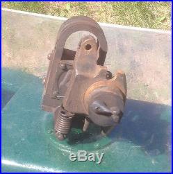 Antique Stationary Hit Miss Gas Engine Magneto, Fairbanks-Morse Plugoscillator