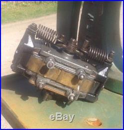 Antique Stationary Hit Miss Gas Engine Webster Magneto AMM