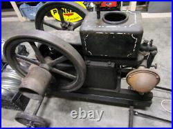 Antique Termaat & Monahan 2 1/2 HP Hit and Miss Engine on Nice Cart Truck Rare