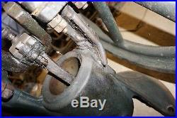 Antique Vintage Bessemer Gas Engine Co. Air Compressor Pump Hit Miss Steam Punk