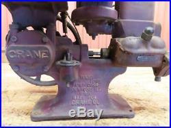Antique Vintage Hit & Miss Engine Era Crane Ward Love Pump Corp Piston Pump