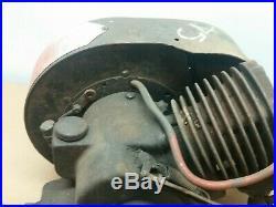 Antique Vintage Johnson Iron Horse stationary engine / Hit & Miss, Kick Start