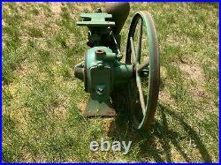 Antique Vintage Shetler Piston Pump Michigan Hit & Miss Engine Era Steampunk