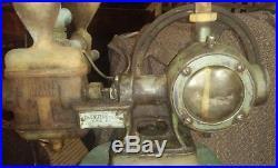 Antique Vintage steam uniflow Erie PA Air Water Pump Hit & Miss Engine