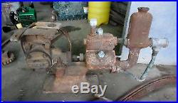 Antique Ward Love Crane Co Water Transfer Pump Hit Miss Engine Farm Barn Find