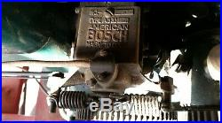 Antique old 3 Hp FAIRBANKS-MORSE Z Hit Miss Gas Engine with cart Steam Tractor