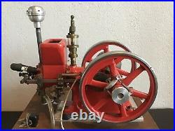 Associated hired man Hit & Miss Gas Engine 1/3 Scale Model by Breisch