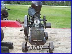 BAKER MONITOR VJ Hit Miss Gas Engine Original Cart Battery Coil Box Steam NICE