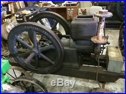 Beaumier Iron Works Brenham Tx Hit And Miss Engine