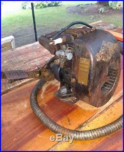Briggs & Stratton WM Vintage hit miss kickstart engine cranks smooth