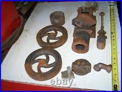 COLES Power Models Tank Cooled Hit Miss Gas Engine Casting Kit Steam Tractor WOW