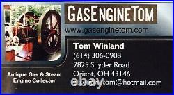Cast Iron Ball Muffler Hit Miss Gas Engine