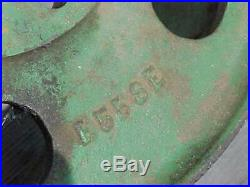 Cast Iron Flat Belt Pulley for John Deere 1.5 to 3 HP Hit Miss Gas Engine