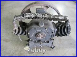 Champion Pneumatic Machinery Antique Air Compressor Hit Miss Stationary Engine