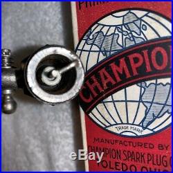 Champion Priming Spark Plug, Model T Ford, Hit Miss Gas Engine, NOS