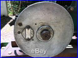 Coldwell Cub hit and miss stationary engine on cart RARE