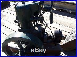 Cushman C Binder Engine With Radiator & Magneto 4 HP Hit Miss Flywheel Engine