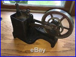 Dayton Flame Licker Vacuum Rotor Hit Miss Engine Toy Steam Motor Old Antique