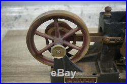 Dayton Vacuum Rotor Flame Licker Antique Toy Engine Hit Miss Steam Gas Cast Iron