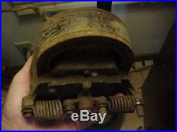 Decent Old Brass Body Type Webster 2 Magnet Magneto Hit Miss Gas Engine