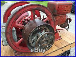Desjardins 5hp Hit Miss Antique Engine, all Original with Cart
