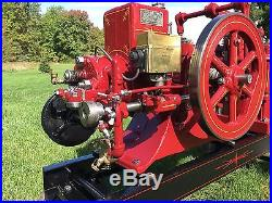 Domestic Hit Miss Engine. Beautiful, runs great, Watch the video
