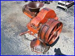 ENTERPRISE 52 Floor Model Pedestal MEAT GRINDER Belt Driven Hit Miss Gas Engine