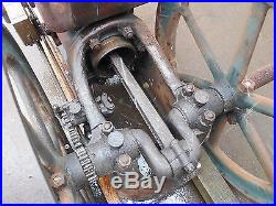 EXCELLENT RUNNING 10HP TYPE B WITTE HIT & MISS GAS ENGINE L@@K! (WITH VIDEO)