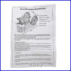 Eachine ET8 Horizontal Hit Miss Complete Engine Model STEM Upgrade Gas Mold 6CC