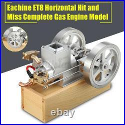 Eachine ET8 STEM Upgrade Hit & Miss Gas Engine Stirling Engine Model Combustion