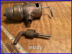 Early Ottawa Log Saw Brass Mixer Hit Miss Old Engine